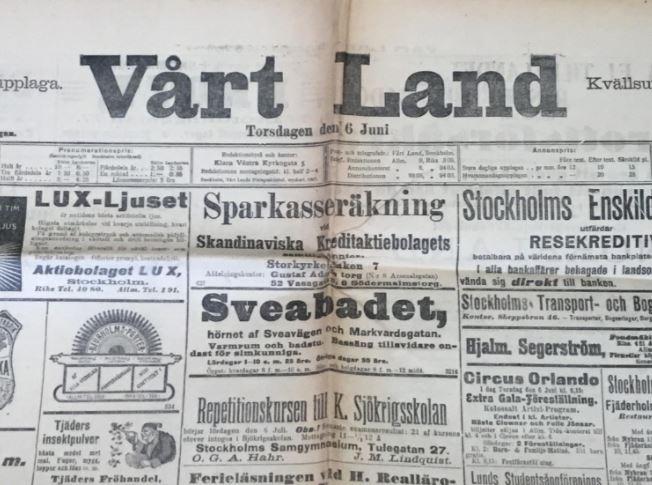 J. W. A. YLLANDERS DAGBOK 1889:  Februari D. 13 O.